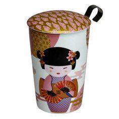 Mug to go Teaeve New Little Geisha rosé Web Design, High Tea, Geisha, Planer, To Go, Mugs, Rose, Tableware, Tablewares