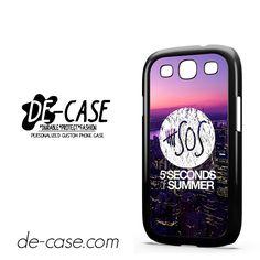 5 Seconds Of Summer 5SOS 5 SOS City Logo For Samsung Galaxy S3 Case Phone Case Gift Present YO
