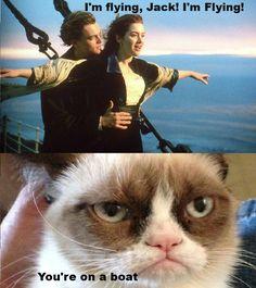 Tard didn't care for Titanic