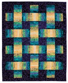 Stack, Shuffle, and Slide: A New Technique for Stack the Deck Quilts, by Karla Alexander Jelly Roll Quilt Patterns, Modern Quilt Patterns, Quilt Block Patterns, Quilt Blocks, Modern Quilting, Batik Quilts, Jellyroll Quilts, Patchwork Quilting, Quilt Stitching