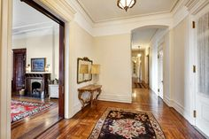 The%2018-foot%20entry%20foyer%20connects%20to%20a%2070-foot%20gallery.%20Original%20hardwood%20floors%20can%20be%20found%20throughout%20the%20apartment,%20along%20with%20other%20prewar%20architectural%20detail.