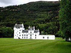 Meggernie Castle.
