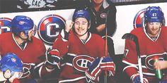 Chuckie and Gally bench fist bump Montreal Canadiens, Hockey Rules, Fist Bump, Hockey Stuff, Chucky, Toothless, Sports Teams, Hockey Players, Ice Hockey
