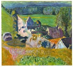 Landscape, 1935. By French Artist Pierre Bonnard