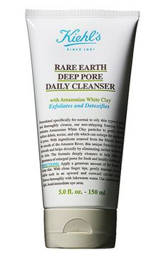 Kiehl's Rare Earth Daily Cleanser - #Kiehl's #AromaticBlends