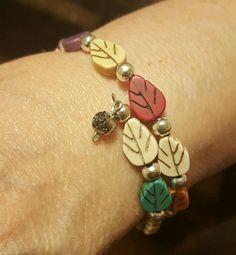 Memory wire. Turquoise. Leaf shaped stones. @ak.bijouxma Leaf Shapes, Stones, Fans, Wire, Charmed, Turquoise, Bracelets, Jewelry, Fashion