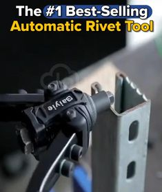 •🔥 LIMITED TIME ONLY •✅ 2 Year Warranty •🌎 Shipped Worldwide •⏳ 50% OFF Sale On Now Our Automatic Rivet Tool provides an EASY and EFFECTIVE way to fasten firewall additions, body panels, and much more! EASY TO USE: The tool-free quick-change head design makes it simple to change mandrels and nose pieces quickly without the need for additional tools. Now you can smoothen out your project and save yourself time. Available with: ONLY RIVET NUTS (120 pcs) ONLY RIVET TOOL RIVET TOOL SET