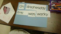wacky wednesday dr. seuss literacy activity