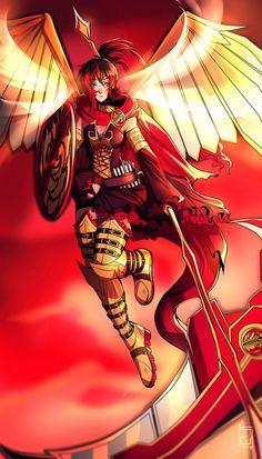 From Anime Fusions ep. 1 on my youtube, a Ruby Rose and Pyrrha Nikos Fusion! Speedpaint:www.youtube.com/watch?v=ogQyc2… Art (c) AgentWhiteHawk 2016 Ruby Rose and Pyrrha Nikos belong to...