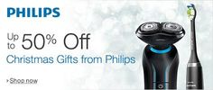 Up to 50% Off Christmas Gifts from Philips