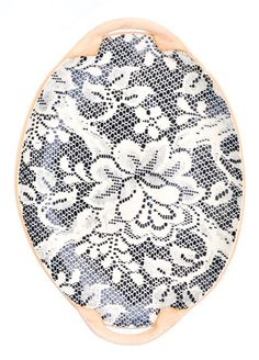 Tapestry Lace Serving Tray