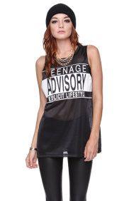 Teenage Advisory Tank