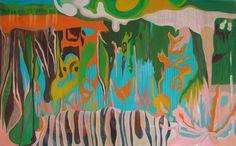 """Todo pasa"", oil on canvas, 190x115cm, 2012"
