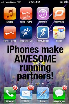 awesom pin, iphon, exercis, fitness tricks, running apps, health, running tips, fitness tips and tricks, get fit motivation