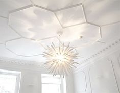 honeycomb moulding on ceilings
