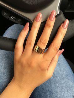 Neem een kijkje op de beste bolle nagels longen in de foto's hieronder en krijg ideeën voor uw fotografie!!! Blush Pink Oval Nails Image source