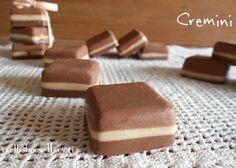 Cremini - cioccolatini fatti in casa - ricetta facile e veloce
