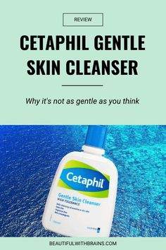 Dermatologists say that Cetaphil Gentle Skin Cleanser is the best cleanser for sensitive skin. Cleanser For Sensitive Skin, Beauty Science, Cetaphil, Glowy Skin, Younger Looking Skin, Acne Skin, Beauty Skin, How To Find Out, Skin Care