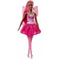 Papusa Mattel Barbie Dreamtopia Zana Sclipitoare Doll Clothes Barbie, Barbie I, Mattel Barbie, Barbie And Ken, Barbie Fairy, Fairy Dolls, Mattel Shop, Fairy Shoes, Barbie Website