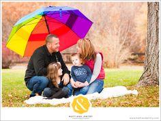 rainy day family portraits