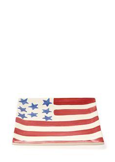 EIGEN ARTS Flag Plate (made in USA!)