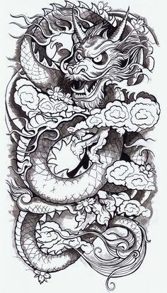 Chinese Dragon. One of these was in my dreams but it was red and gold and spoke spanish....haha yeah idk why