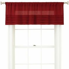Jcp HomeTM Supreme Antique Satin Cascade And Swag Valances