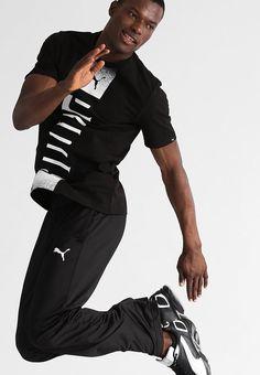 Begib dich zum Training. Puma ESSENTIAL - Jogginghose - black für 39,95 €…