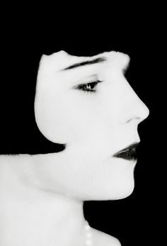 Louise Brooks by George P. Hommel, 1928