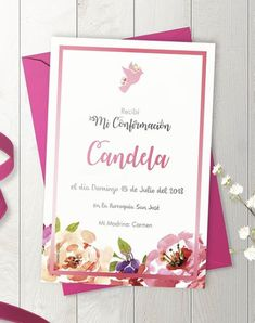 Ideas Bautismo, First Communion, Frases, Invitation Cards, First Holy Communion