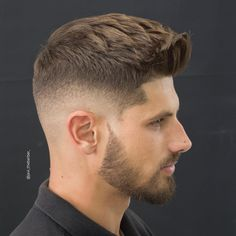 Textured hairstyles are a hot style trend the past 12 months. In 2017 the trend and demand for textured haircuts for men is on the increase.