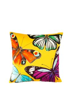 Flutterby Gold Cushion, http://www.kandco.com/flutterby-gold-cushion/1432802709.prd