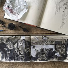 Life drawing at Sloans, ATYN | by Wil Freeborn