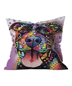 Purple Ms. Understood Throw Pillow by DENY Designs #zulily #zulilyfinds