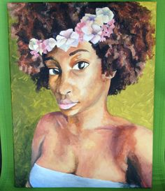 Fro-me  By: Daria Ward Acrylic Painting
