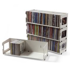 CD rack 40+ - Design by Neuland, Paster & Geldmacher