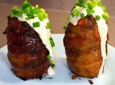 BBQ Volcano Potatoes