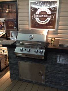 Jackson Grill for your backyard. Lux Series, Outdoor Kitchens, Grills, Bottle Opener, Jackson, Backyard, Outdoor Decor, Wall, Home Decor