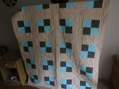 I made this quilt for me.
