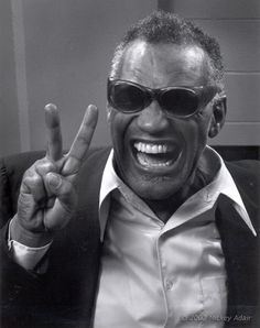 Ray Charles, by Mickey Adair (1982)