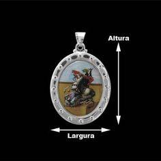 Medalha de Prata São Jorge.