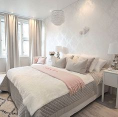 Better late than never😄 It's my time to go to bed but first I want to show you our bedroom before and after a few changes. More pictures… Master Bedroom Design, Dream Bedroom, Home Bedroom, Bedroom Decor, Bedroom Ideas, Bedroom Inspiration, Contemporary Bedroom, My New Room, Beautiful Bedrooms