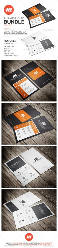 Business Card Bundle Vol 2