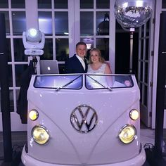 Hire this awesome Split Screen Campervan VW DJ Booth DJ Brian Mole Dj Booth, Mole, Campervan, Vw, Product Launch, Awesome, Wedding, Valentines Day Weddings, Mole Sauce