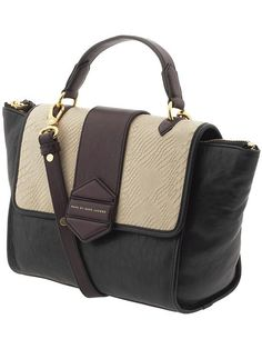 Marc by Marc Jacobs Colorblocked top handle tote