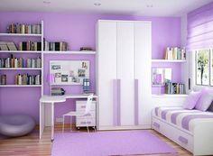 dormitorios modernos para chicas