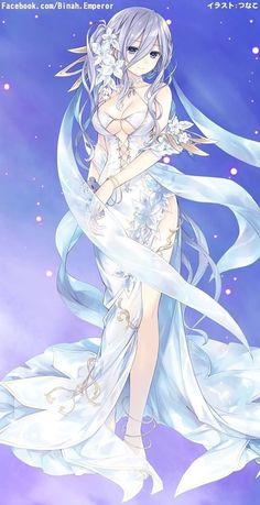 Date a live/Mio Manga Kawaii, Chica Anime Manga, Kawaii Anime Girl, Date A Live, Girls Anime, Anime Art Girl, Anime Girl Dress, Art Anime Fille, One Punch Anime