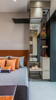 Wardrobe Design Bedroom, Room Design Bedroom, Bedroom Furniture Design, Home Room Design, Modern Bedroom, Master Bedroom, Small House Interior Design, House Design, Indian Bedroom Design