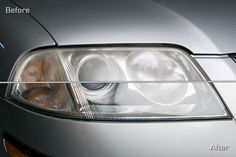 How to restore your vehicles headlights. Skip the kits. Check the comments for easier alternatives.