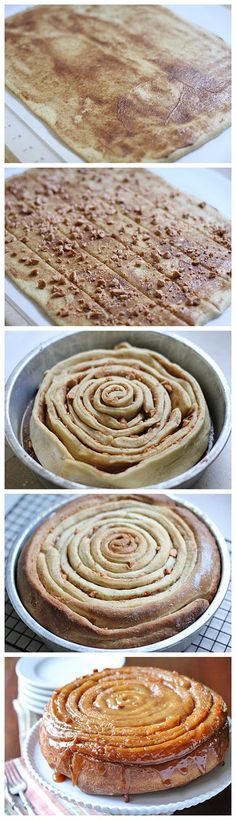 Butterscotch Spiral Coffee Cake Recipe on The Galley Gourmet at http://www.thegalleygourmet.net/2011/10/butterscotch-spiral-coffee-cake.html